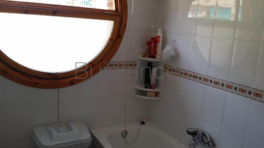 Cambio de bañera por plato de ducha en Graus antes de la reforma