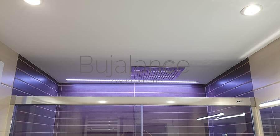 Luz led empotrada techo RGB con mando a distancia